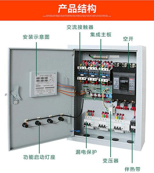 太阳能集热工程控制柜